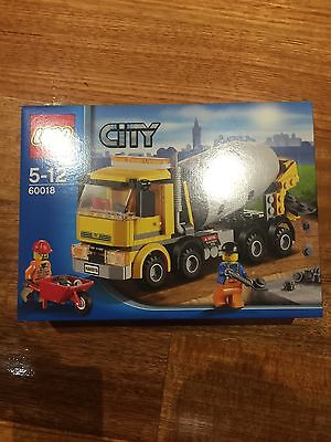 Lego 60018 Cement Mixer City Set Brand New In Sealed Box