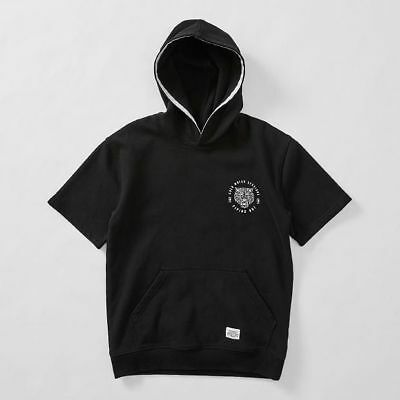 NEW Piping Hot Short Sleeve Fleece Hoodie