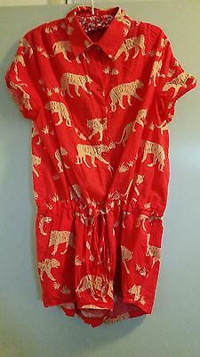 80s retro inspired playsuit size Large
