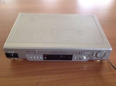 SONY VIDEO VCR PLAYER SLV-EZ77 Vgc Working Well 6 Head Hi Fi Stereo Recorder