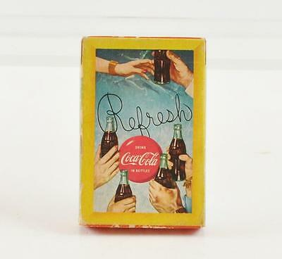 Vintage 1958 Coca-Cola Playing Cards SEALED