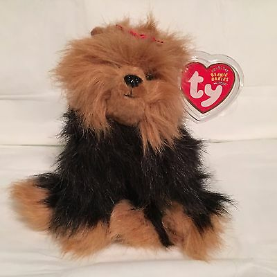 TY Beanie Baby - YAPPER the Dog -  Pristine with Mint Tags - RETIRED