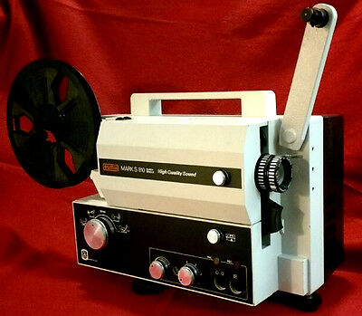 Eumig Mark S 810 Super 8mm Sound Movie Projector (Restored!)