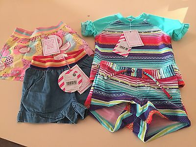 Pumpkin Patch Baby Girl Summer Pack 0-6months Bnwt
