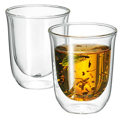 Avanti Vibe 250ml Twin Wall Glass Set RRP $19.95 Double Wall Glasses