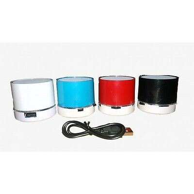 Mini Altavoz Bluetooth Con Luces Led Usb A2Dp Avrcp Manos Libres Radio