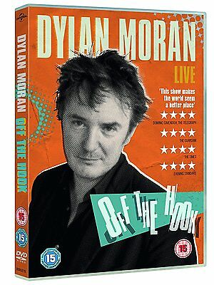 Dylan Moran - Off the Hook [DVD] [2015] New Sealed Live Stand-up Comedy