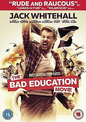 The Bad Education Movie [DVD] [2015] Jack Whitehall New Sealed