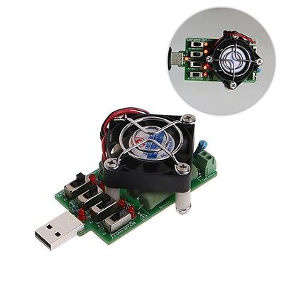Adjustable 15 Current USB Load Resistor Discharge Resistance Capacity Tester