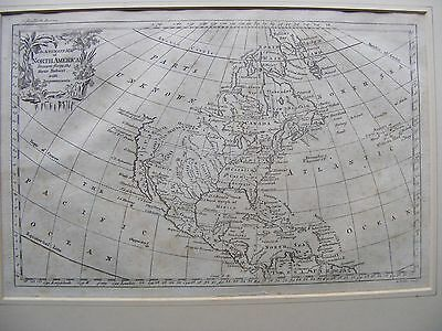 George Rollos map of North America C 1762