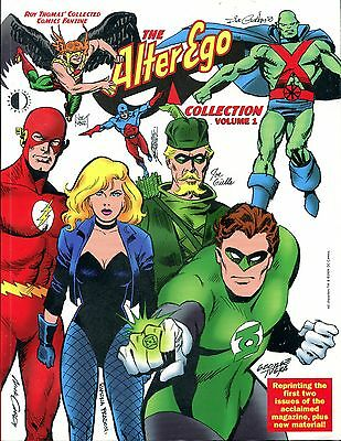 Roy Thomas: The Alter Ego Collection Vol 1 Paperback First Print