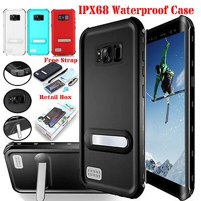 Shockproof Waterproof Dirt Proof Hard Case Full Cover for Samsung Galaxy S8/ S9+