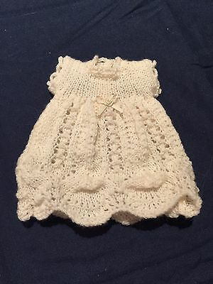 Hand Knitted Dolls Clothes For 8-9 Inch Doll