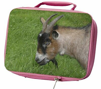 Cheeky Goat Insulated Pink School Lunch Box Bag, AGO-1LBP
