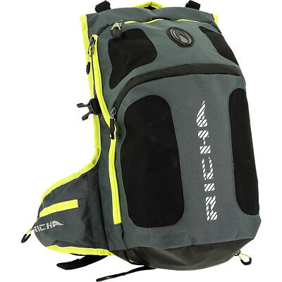 Richa Top Helmet Rucksack Grey Fluo Yellow Bag Backpack Motorbike GhostBikes