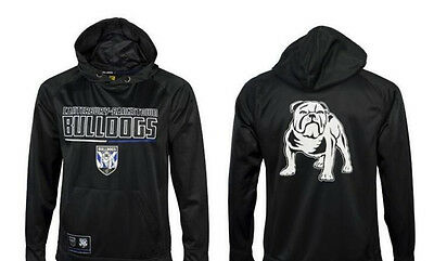 Canterbury Bankstown Bulldogs NRL Classic Polyester Hoody Kids Sizes Only! W6