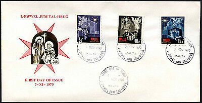 Malta 1970 Christmas FDC First Day Cover #C40716