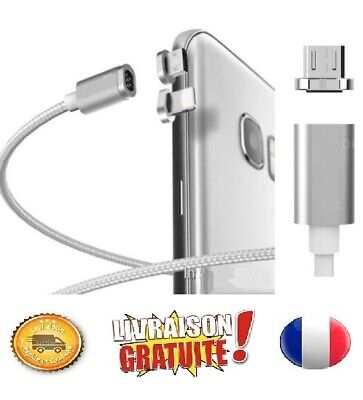 Cable USB Chargeur Magnetique iPhone,Samsung,Type C...etc Charger Synchro Data