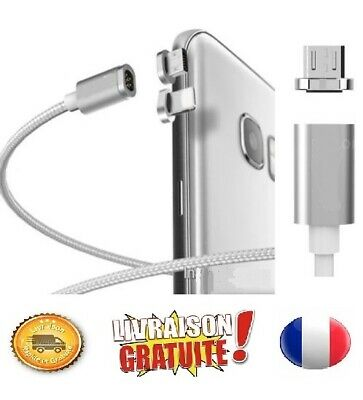 Original Cable USB Chargeur Magnetique iPhone,Samsung,Type C...etc Synchro Data