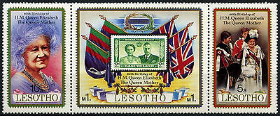 Lesotho 1980 SG#423-5 Queen Mothers 80th Birthday MNH Set #D48152