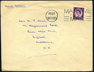 GB QEII Maritime Mail Cover #C40663