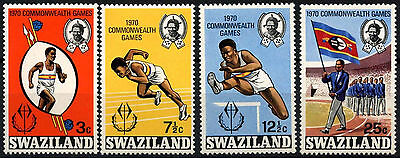 Swaziland 1970 SG#180-3 Commonwealth Games MNH Set #D49110