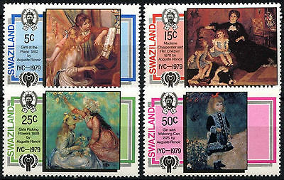 Swaziland 1979 SG#318-321 Year Of The Child MNH Set #D49120
