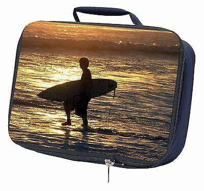 Sunset Surf Navy Insulated Lunch Box, SPO-S2LBN
