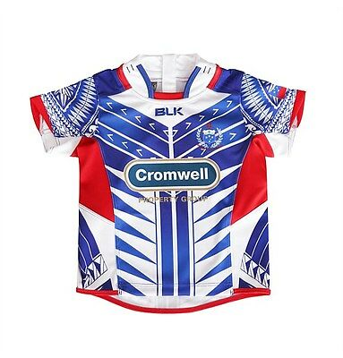Samoa Rugby Union Toddlers Home Jersey Pick Your Size! BNWT's! Manu Samoa! 5