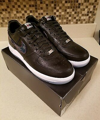 87364040248d NIKE LUNAR FORCE 1 PF QS New England Patriots Black Navy 836341-001 ...
