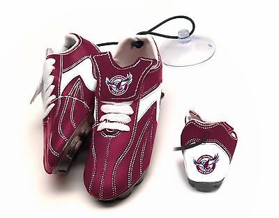 Manly Sea Eagles NRL Hanging Suction Boots for Car Windows!