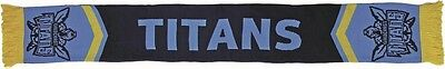 Gold Coast Titans NRL 2017 Cleave Reversible Jacquard Scarf with tassels!