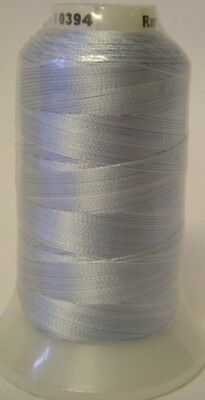 Embroidery Machine Thread Rayon 1000 metre Variegated BABY BLUE A921.0394