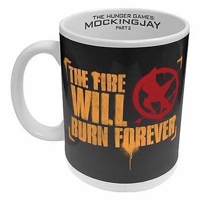 Official The Hunger Games The Fire Will Burn Forever Ceramic Coffee Mug