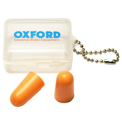 Oxford Ear Plugs 30 Pack Motorcycle Motorbike Foam Reusable Racing Earplugs OF95