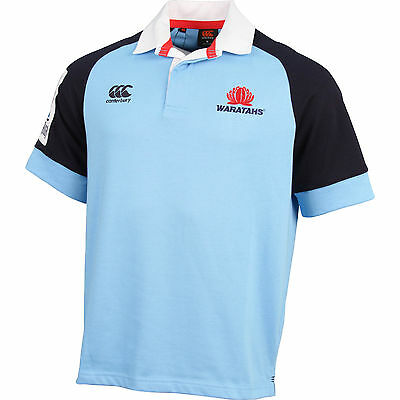 NSW Waratahs CCC Super Rugby Union Classic Collar Jersey Sizes S-4XL! 6