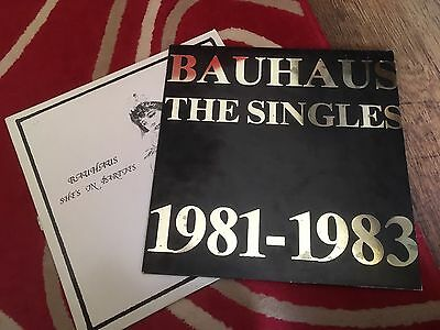 """Bauhaus .the Singles .1981-1983  .plus She's In Parties 12"""""""