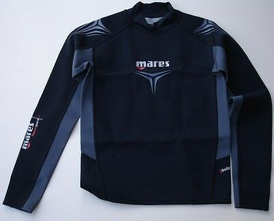 Mares Thermo Guard 0.5mm Mens Extra Small top Long Sleeve               (mq2bxb)