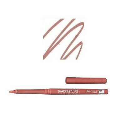 Rimmel Exaggerate Full Colour Automatic Lip Liner 030 Natural Brand New