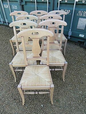 Dinning Chairs X Eight French Style Mint Condition