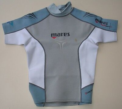 Mares Thermo Guard 0.5mm She Dives Ex Small top Short Sleeve            (mq2bxb)