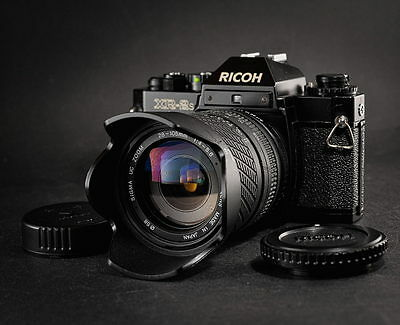 RICOH XR2s mit SIGMA UC-ZOOM 28-105mm 1:4-5,6