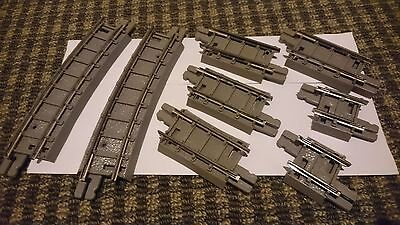 Triang R109, R105, R108 OO grey track mixed lot
