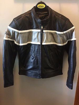 Fast Company Women's Leather Motorcycle Jacket size M