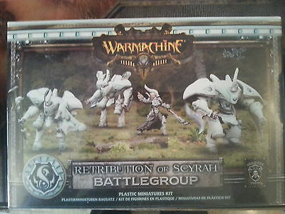 Warmachine Retribution Of Scyrah Battlegroup - New & Sealed
