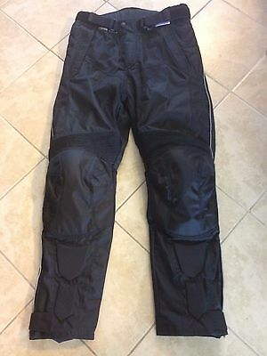 Men's Textile Motorcycle Riding Pants Black size 30