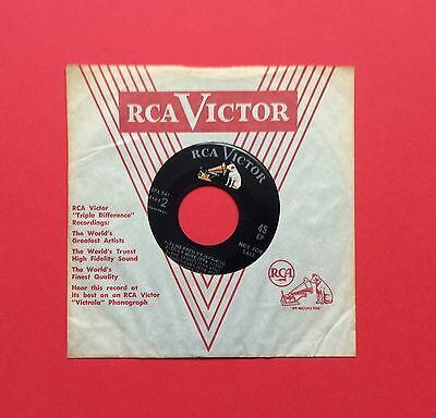 Elvis Presley-Mega Rare, Hard To Find Spa-7-61 Usa Demo