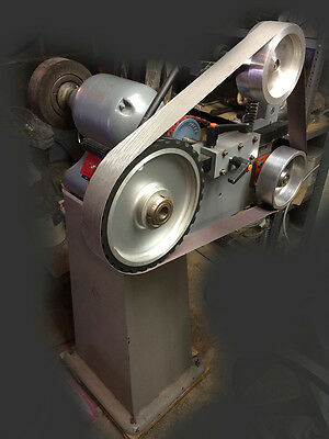 Bader BIII Knife Sharpening System and Idler Arm with Tracking