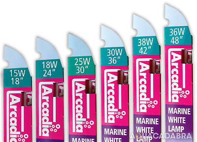 Arcadia Marine White T8 Light Bulb 36W 55W Fish Tank Tube Lamp Aquarium