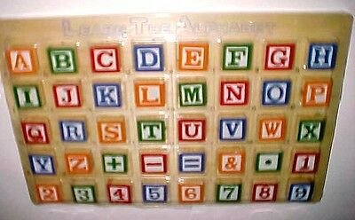 PMC Learn The Alphabet and Number Wooden Tray Educational Item No. HK172 New